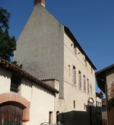 La Tourasse, vue depuis la rue de la Salle.