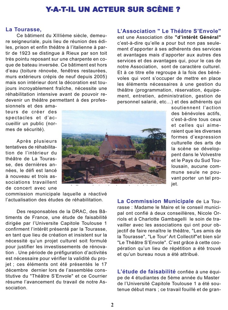 Courrier n°1 Page 2