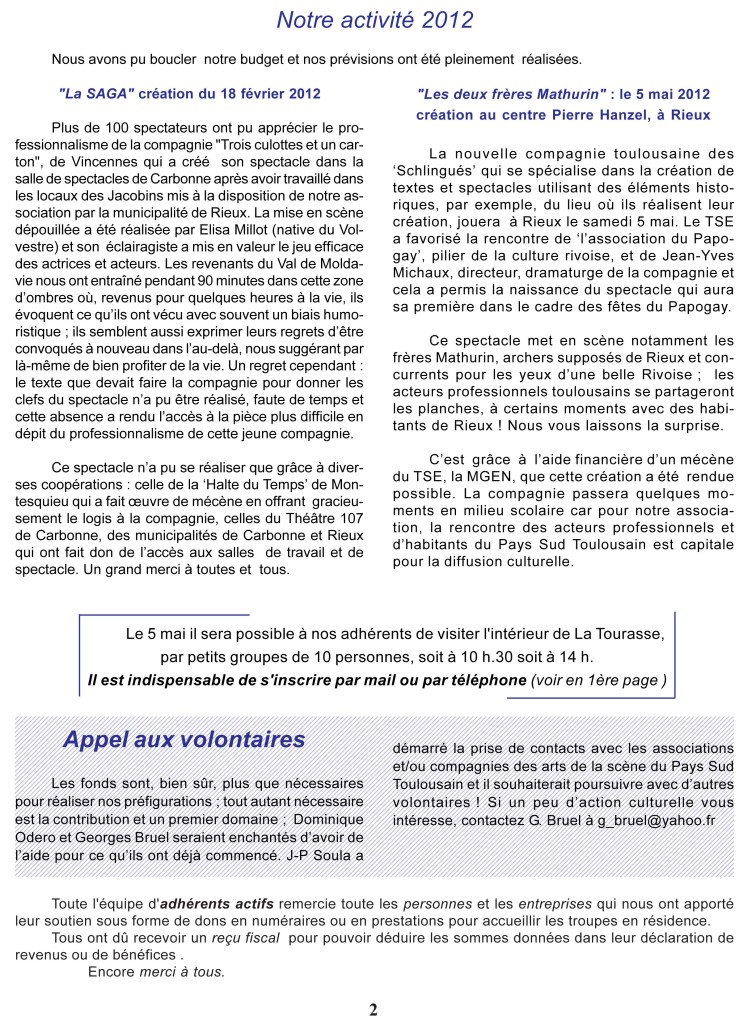Courrier n°4 Page 2