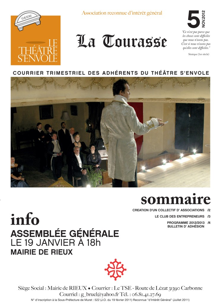 Courrier n°5 Page 1